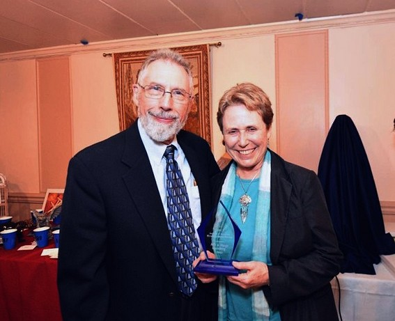 Milt & Margy win ICSS Award